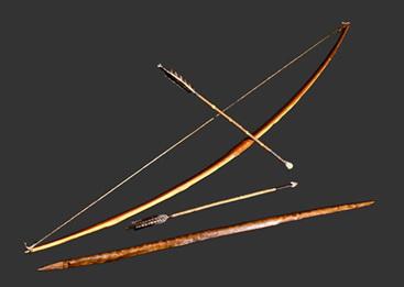 Resultado de imagen de arco y flecha prehistoria